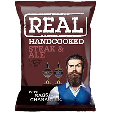 **NEW** REAL STEAK & ALE 35g
