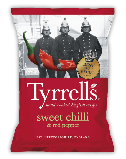 TYRRELLS SWEET CHILLI & RED PEPPER