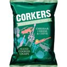 CORKERS CHEDDAR CHEESE & CHIVE