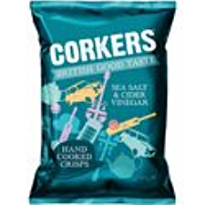 CORKERS SEA SALT & CIDER VINEGAR
