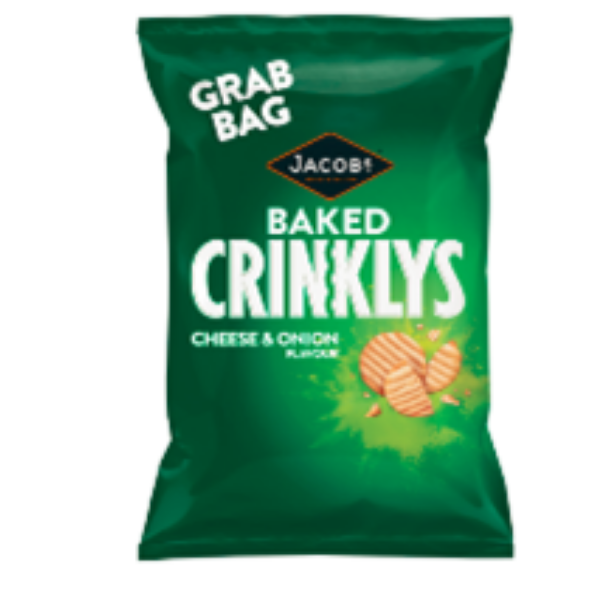 CRINKLYS CHEESE & ONION GRAB BAG CASE