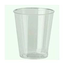 DISPOSABLE FACET SHOT GLASSES