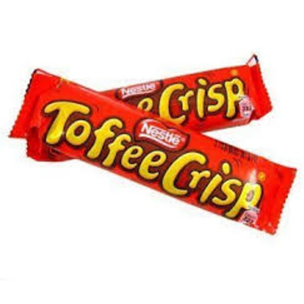 NESTLE NEW 24PK TOFFEE CRISP