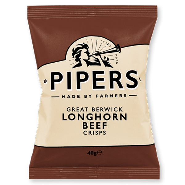 PIPERS GREAT BERWICK LONGHORN BEEF 24's