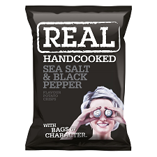 REAL SEA SALT & BLACK PEPPER 35g
