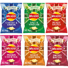 WALKERS CRISPS MIXED