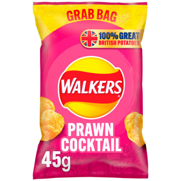 WALKERS GRAB BAG PRAWN COCKTAIL