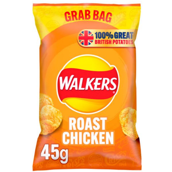 WALKERS GRAB BAG ROAST CHICKEN